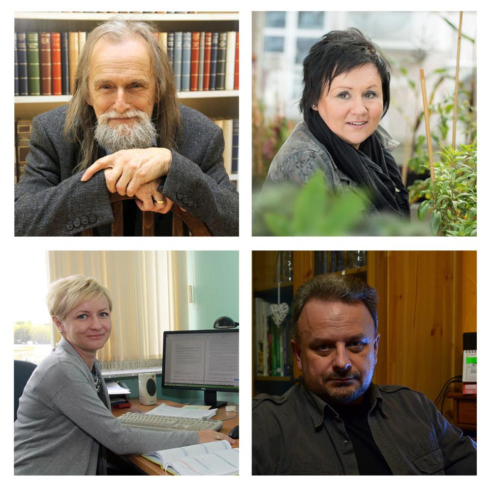 prof. Tadeusz Sławek, dr hab. Edyta Sierka, dr hab. Magdalena Habdas oraz dr inż. Roman Simiński
