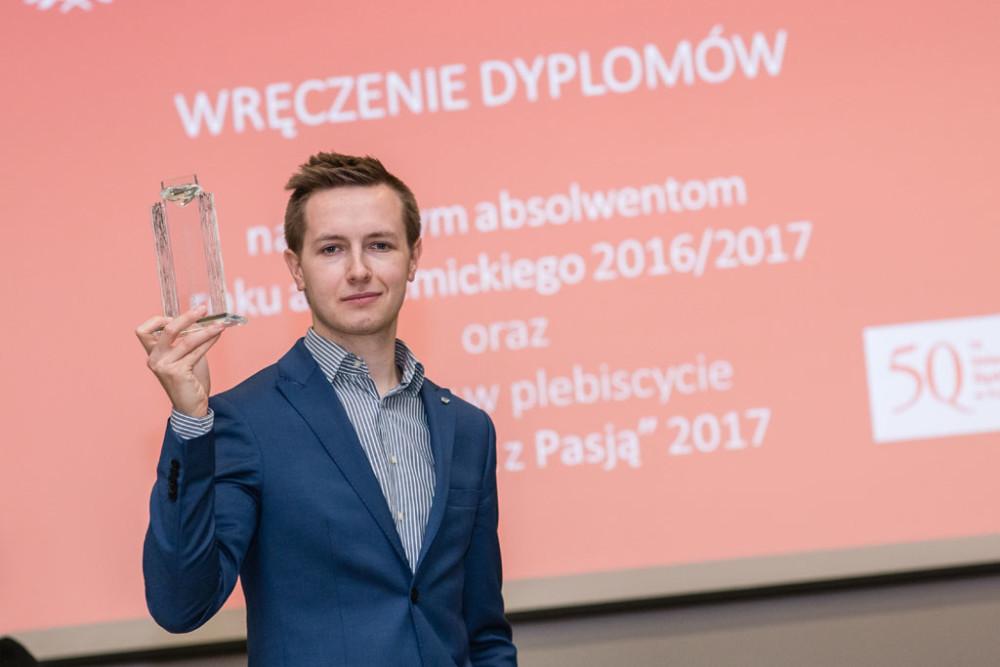 Rafał Warchulski Absolwentem z Pasją 2017 roku