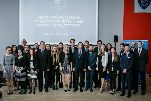 Wspólne zdjęcie uczestników uroczystości (2017 r.)