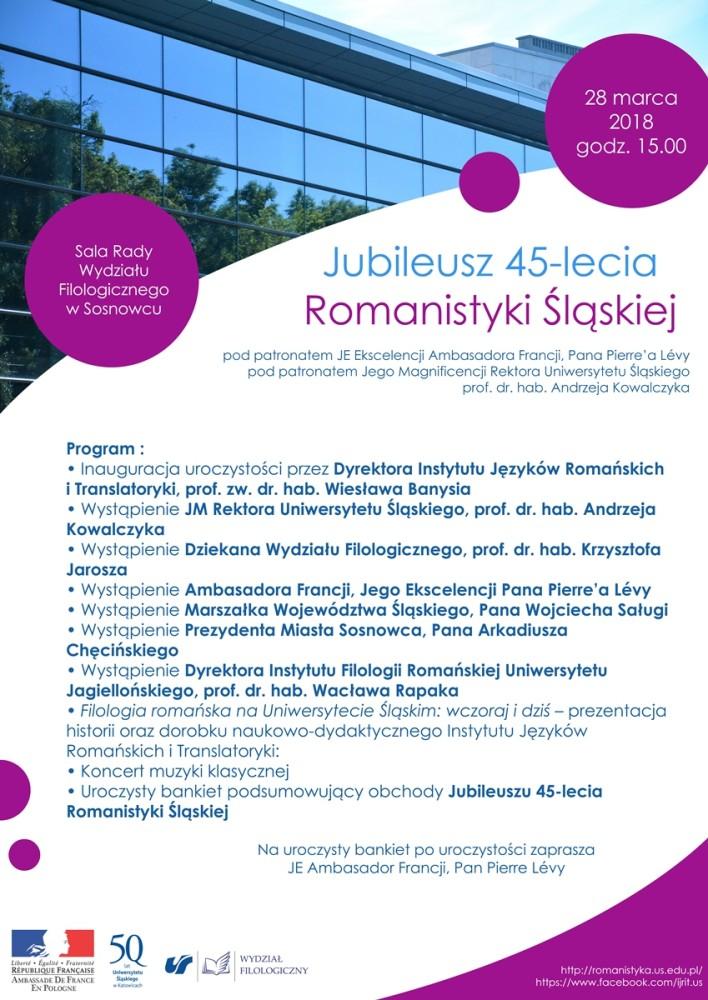 Plakat zawierający program wydarzenia. Agenda dostępna jest również w pliku pdf