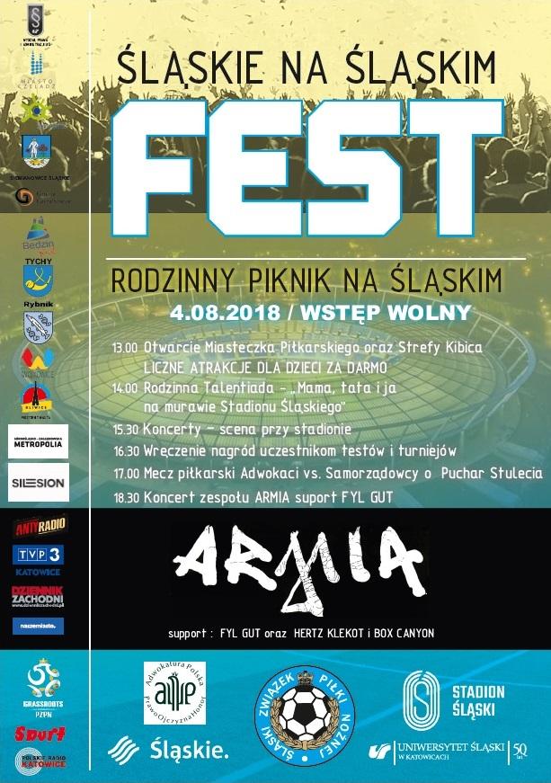 Plakat wraz programem wydarzenia